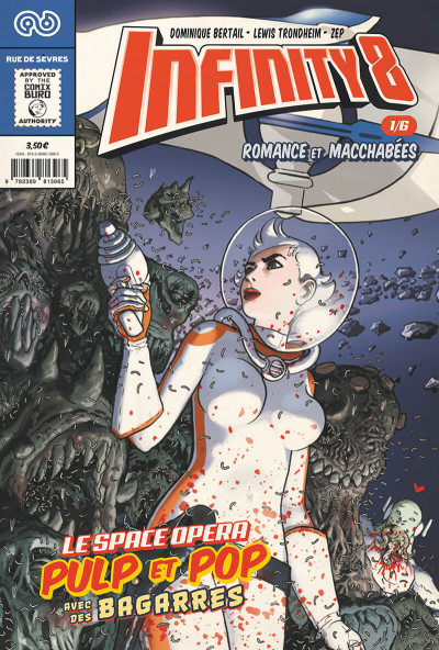 Couverture Infinity 8 tome 1
