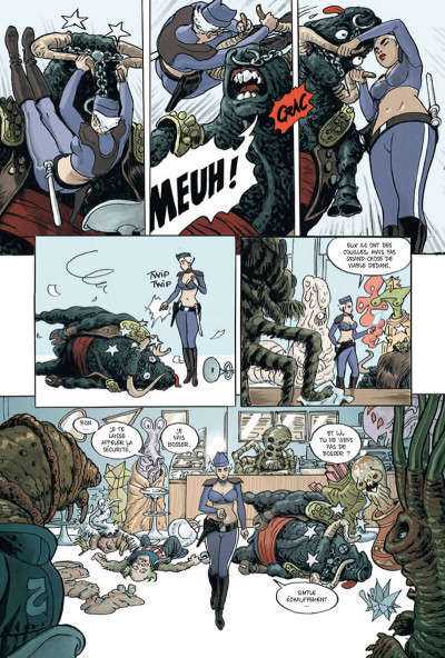Page 6 Infinity 8 tome 1