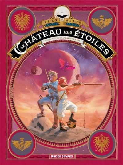 Couverture Le château des étoiles tome 4