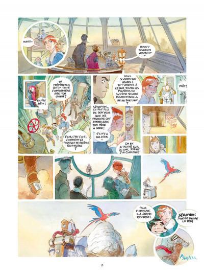 Page 2 Le château des étoiles tome 4