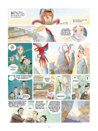 Page 3 Le château des étoiles tome 4