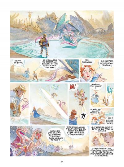 Page 5 Le château des étoiles tome 4