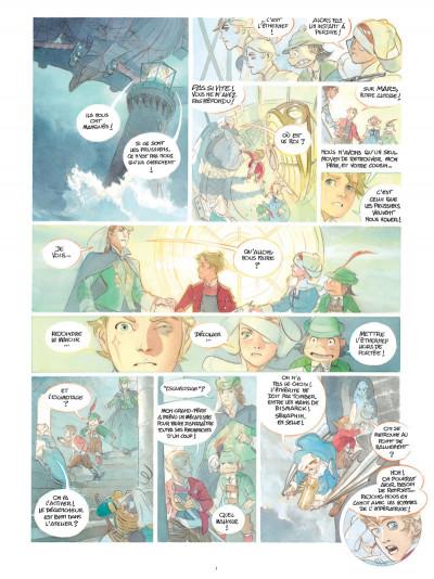 Page 1 Le château des étoiles - gazette tome 8