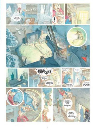 Page 3 Le château des étoiles - gazette tome 8