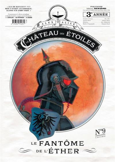 Couverture Château des étoiles - gazette tome 9 - le fantôme de l'éther