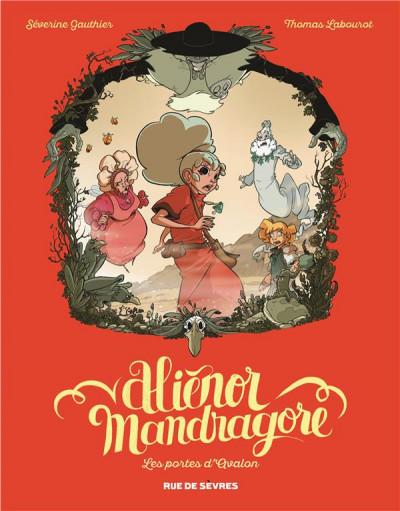 Couverture Aliénor Mandragore tome 3