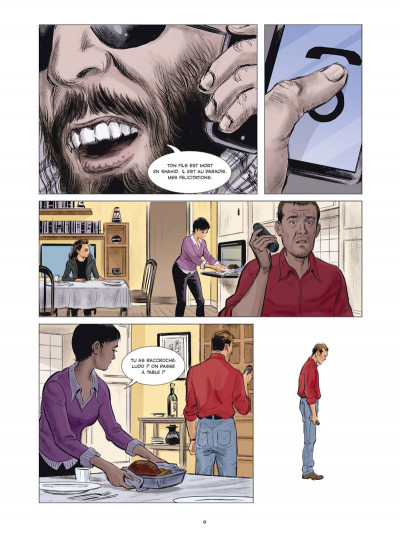 Page 1 Compte à rebours tome 1