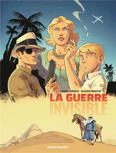 Couverture La guerre invisible tome 1