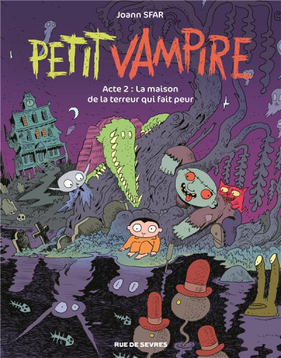 Couverture Petit vampire tome 2