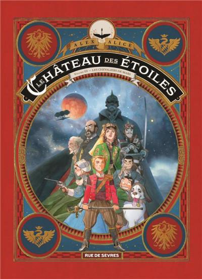 Couverture Le château des étoiles tome 3