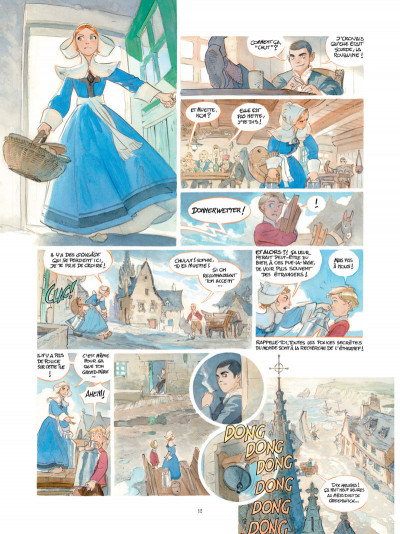 Page 4 Le château des étoiles tome 3 + ex-libris offert