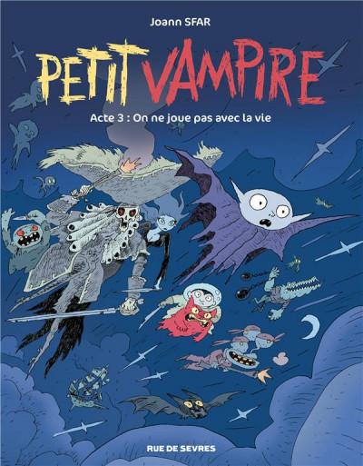 Couverture Petit vampire tome 3