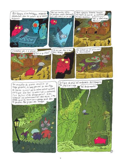 Page 0 Petit vampire tome 3