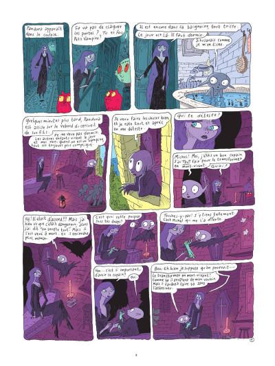 Page 8 Petit vampire tome 3