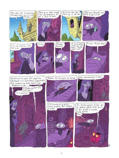Page 9 Petit vampire tome 3