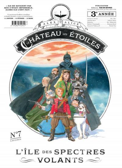 Couverture Le château des étoiles - gazette tome 7