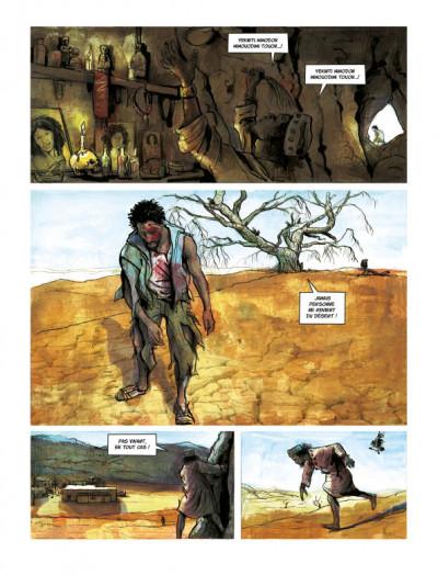 Page 1 Terre gâtée tome 1