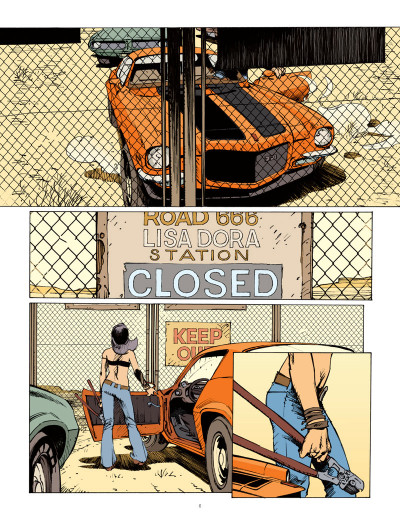 Page 4 Streamliner tome 1