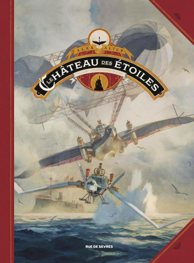 Couverture Le château des étoiles tome 3 (grand format)