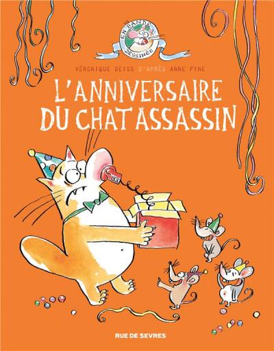 Couverture Le chat assassin tome 4
