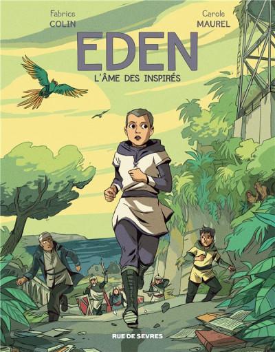 Couverture Eden tome 2