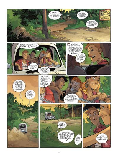 Page 0 Un putain de salopard tome 1 + ex-libris offert