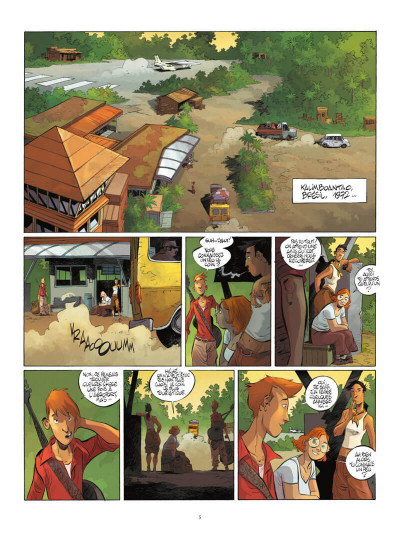 Page 6 Un putain de salopard tome 1 + ex-libris offert