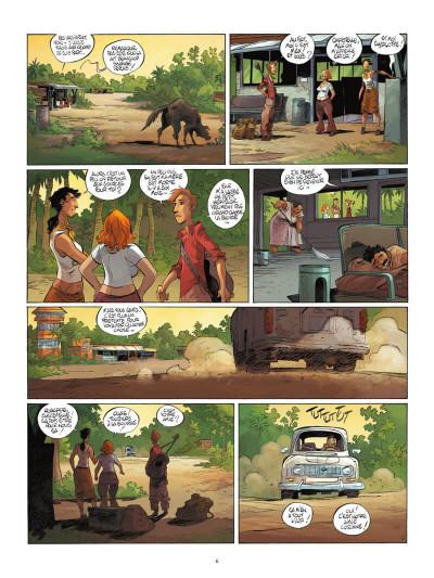 Page 7 Un putain de salopard tome 1 + ex-libris offert