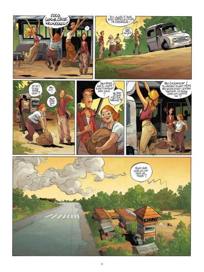 Page 9 Un putain de salopard tome 1 + ex-libris offert