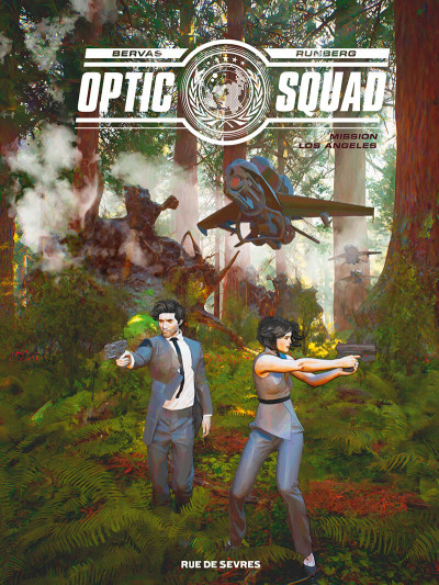 Couverture Optic squad tome 2