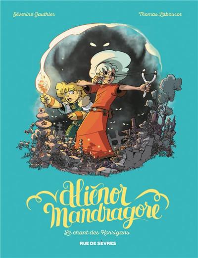 Couverture Aliénor Mandragore tome 4
