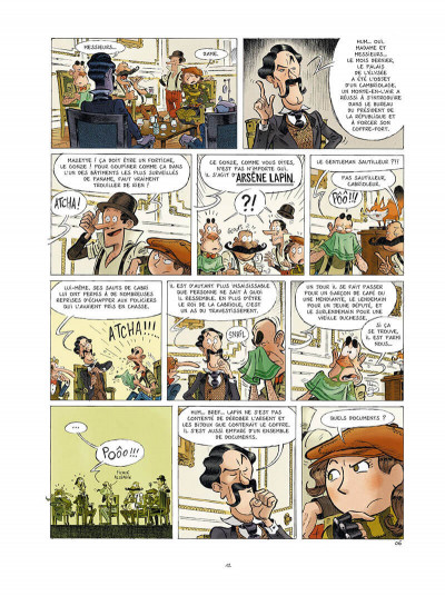 Page 0 Une aventure des spectaculaires tome 4