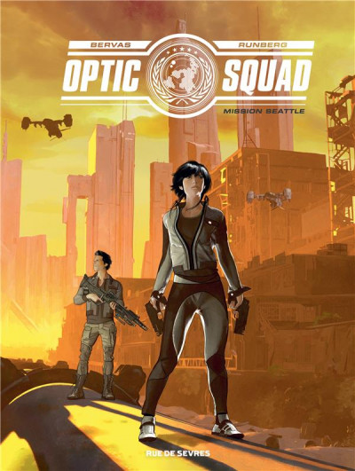 Couverture Optic squad tome 1