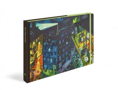 Couverture Travel book Paris