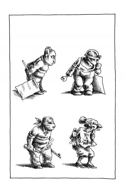 Page 3 Petit manuel du parfait réfugié politique