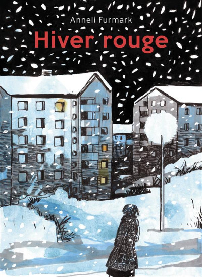 Couverture Hiver rouge