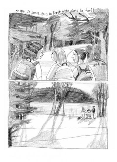 Page 1 Ce qui se passe dans la forêt