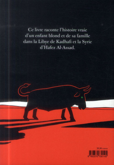 Dos L'arabe du futur tome 1