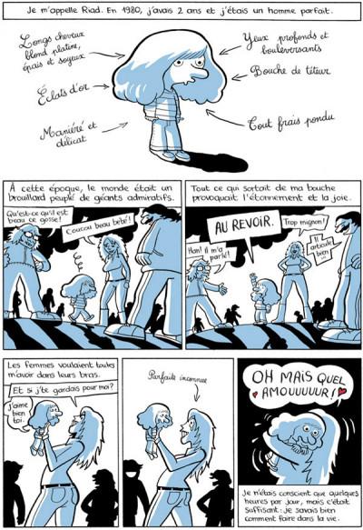 Page 1 L'arabe du futur tome 1