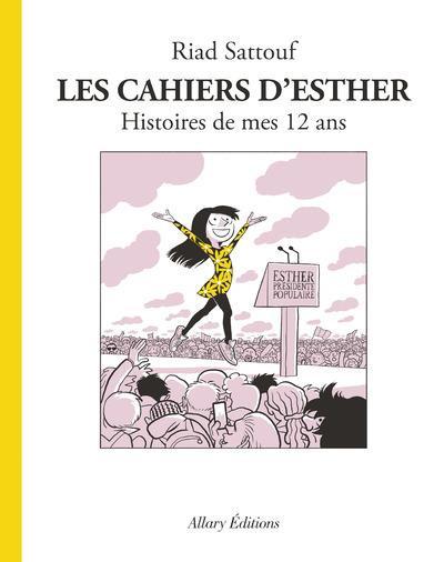 Couverture Les cahiers d'Esther tome 3