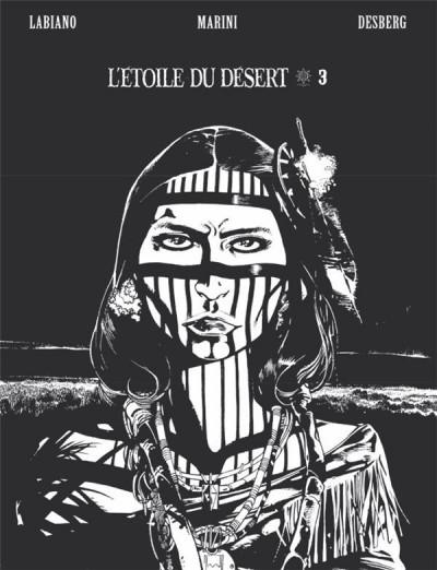 Couverture L'étoile du désert - édition n&b tome 3