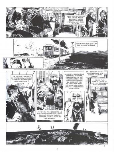 Page 1 L'étoile du désert - tirage de luxe n&b tome 4