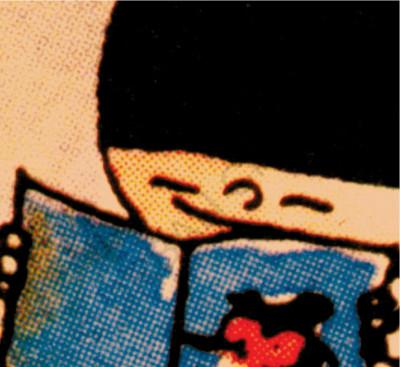 Page 1 Hong Kong comics