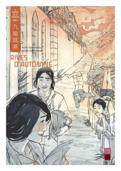 Couverture La trilogie de la citadelle tome 2 - rives d'automne