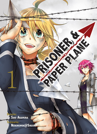 Couverture Prisoner and paper plane tome 1