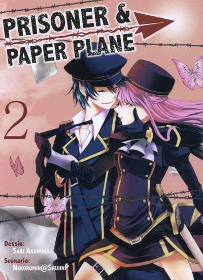 Couverture Prisoner and paper plane tome 2
