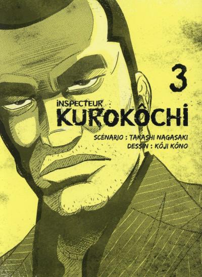 Couverture Inspecteur Kurokochi tome 3
