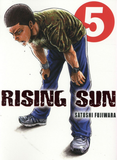 Couverture Rising Sun tome 5