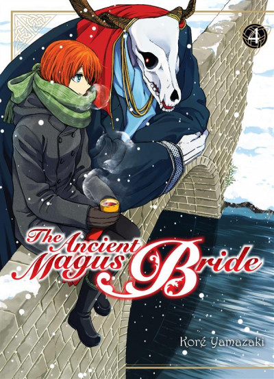 Couverture The ancient magus bride tome 4