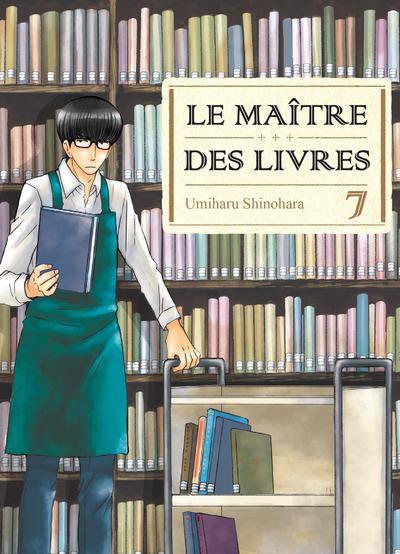 Couverture Le maître des livres tome 7